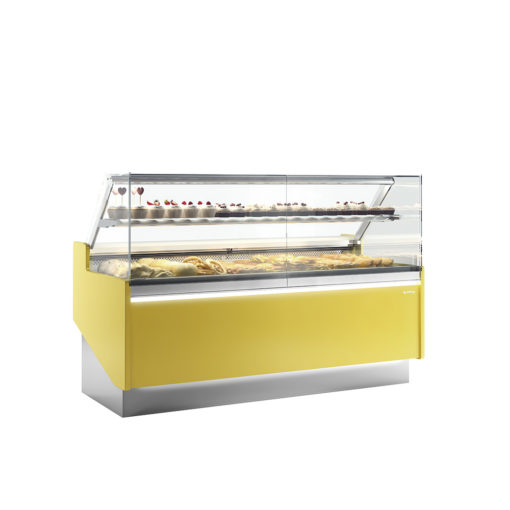 PASTRY DISPLAY CASES STRAIGHT GLASS